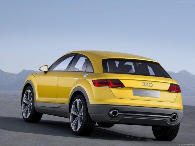 Audi TT Offroad Concept 2014 4x4 wallpaper car e tron rear 4000x3000 wallpaper