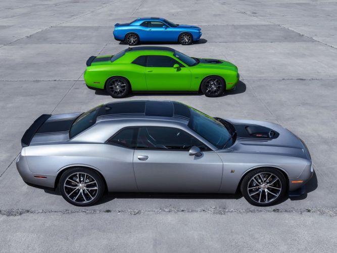 Dodge- Challenger 2015 muscle car wallpaper 22 4000x3000 wallpaper