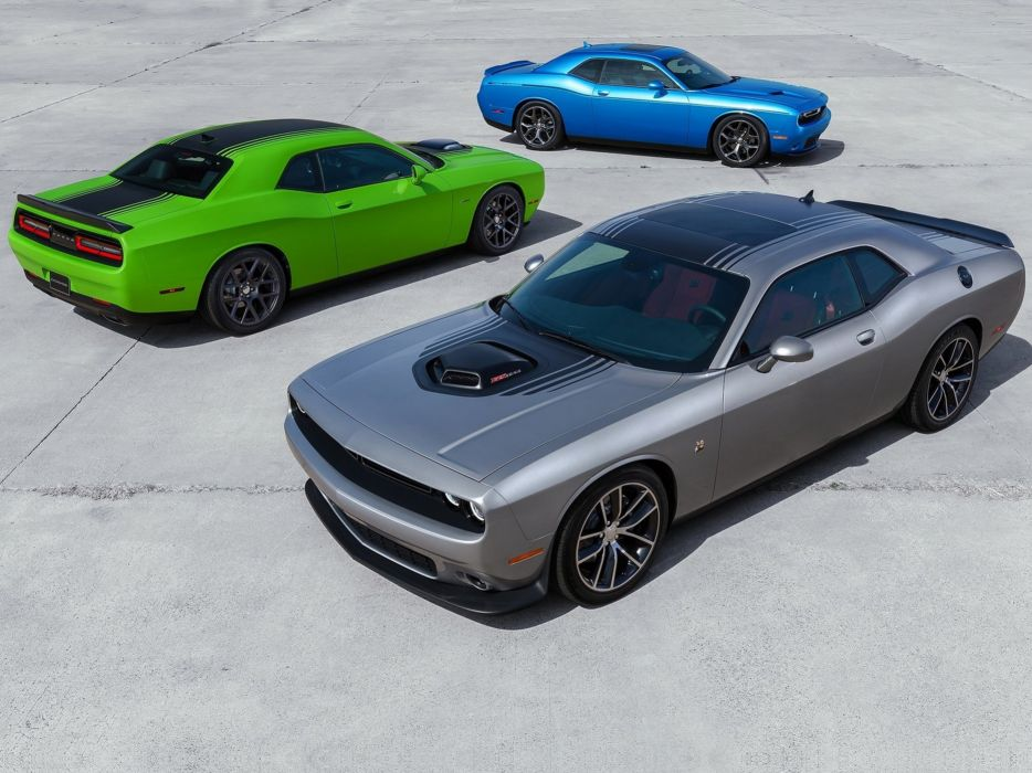 Dodge Challenger 2015 Muscle Car Wallpaper Three 4000x3000