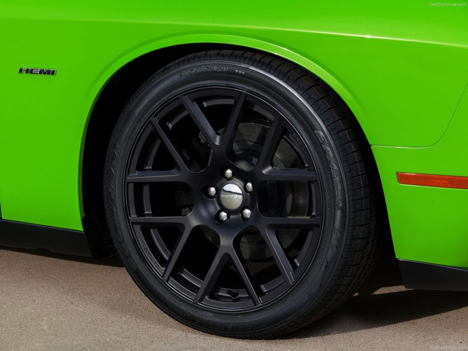 Dodge- Challenger 2015 muscle car wallpaper wheel black 4000x3000 wallpaper