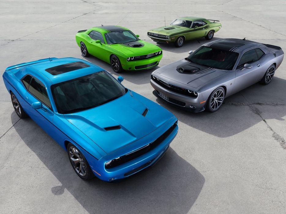 Dodge- Challenger 2015 muscle car wallpaper 4000x3000 wallpaper