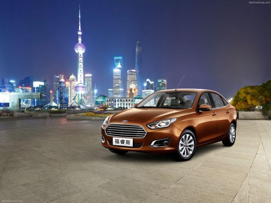 Ford Escort 2015 China asia xangai wallpaper 01 4000x3000 wallpaper