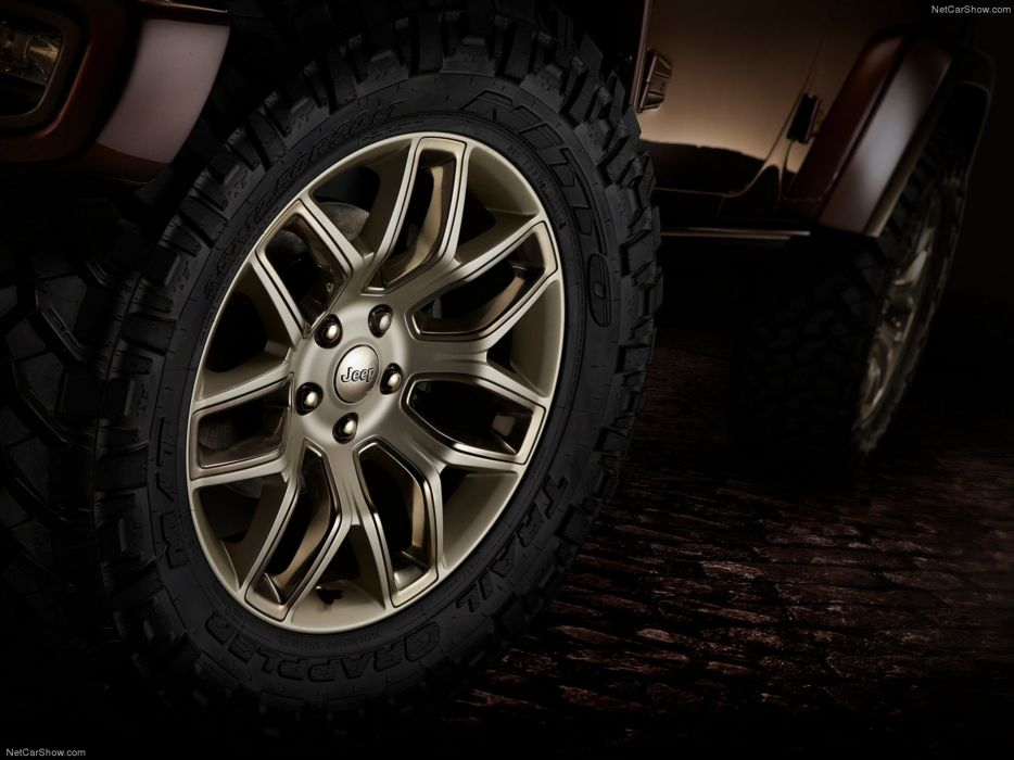 Jeep -Wrangler Sundancer Concept 2014 wheel wallpaper 4000x3000 wallpaper