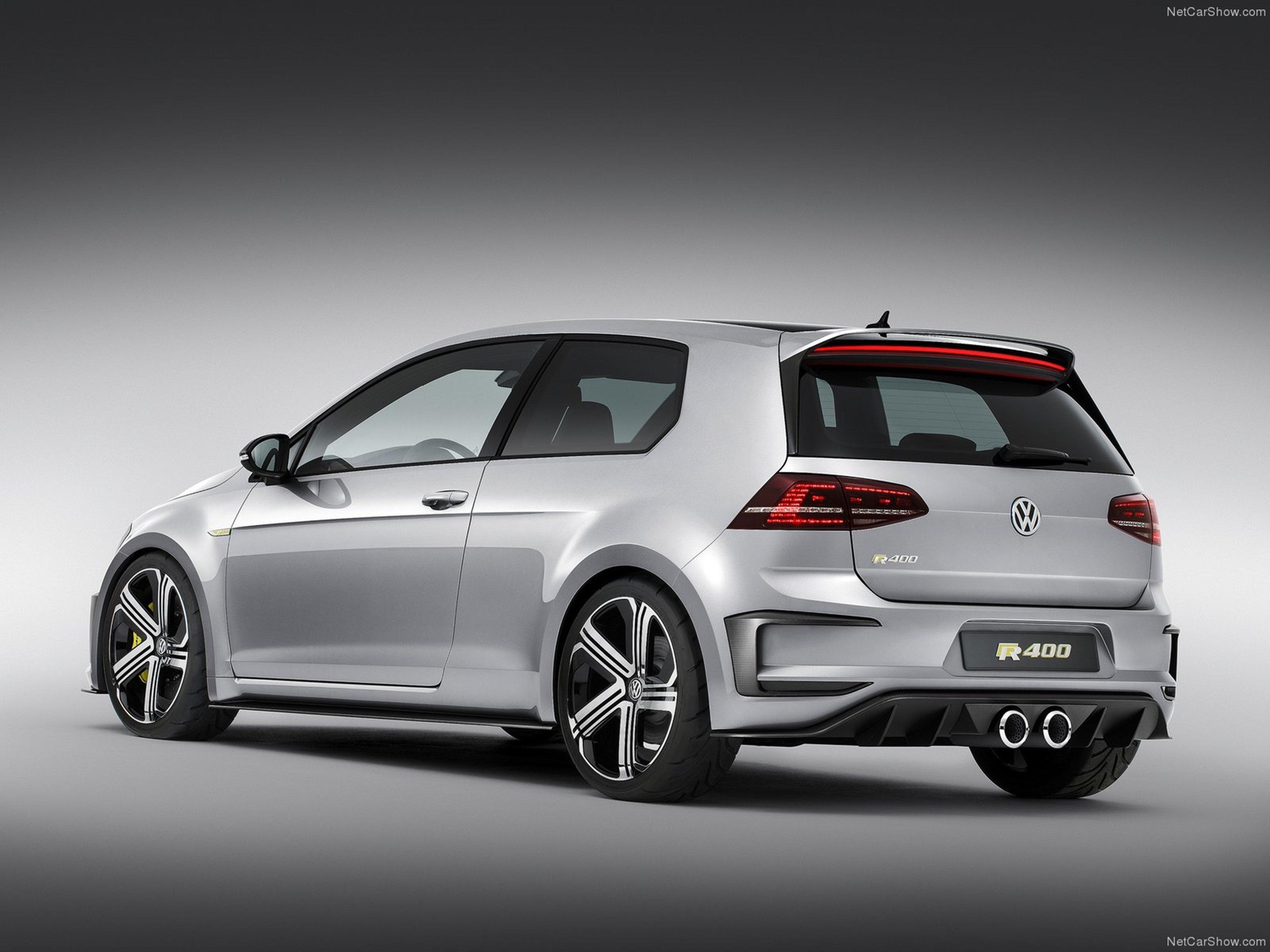 Volkswagen Golf R400 Concept 2014 Tunning Wallpaper 03 4000x3000