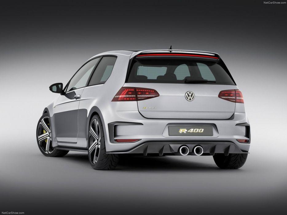 Volkswagen Golf R400 Concept 2014 tunning wallpaper 04 4000x3000 wallpaper