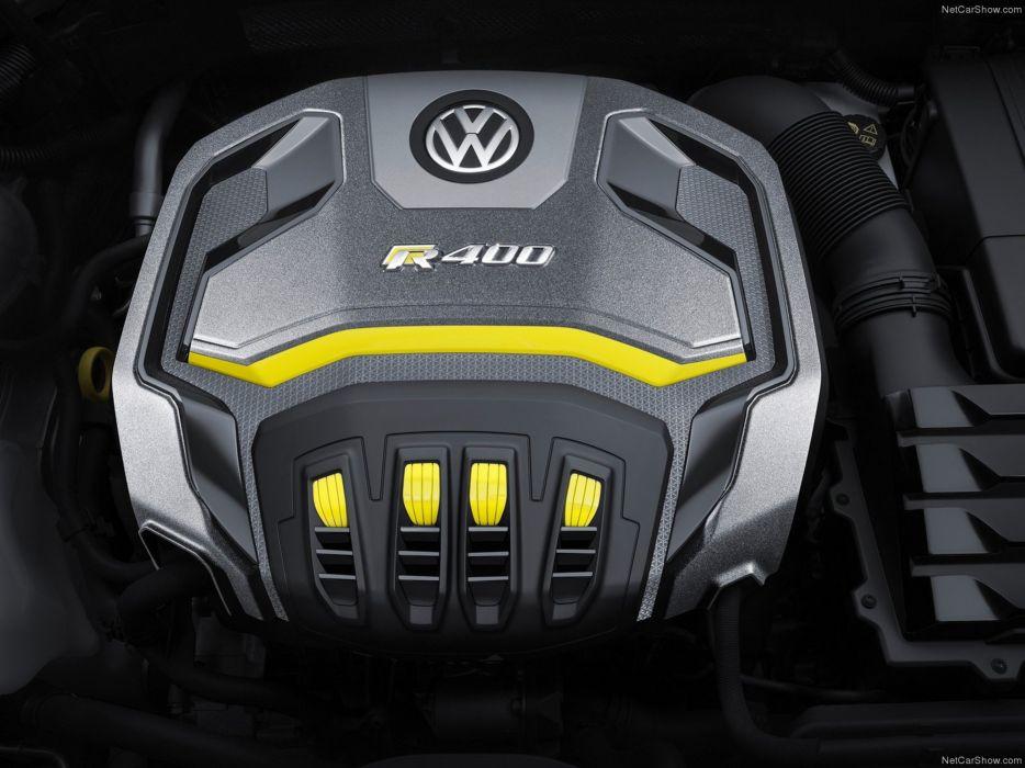 Volkswagen Golf R400 Concept 2014 tunning engine 4000x3000 wallpaper