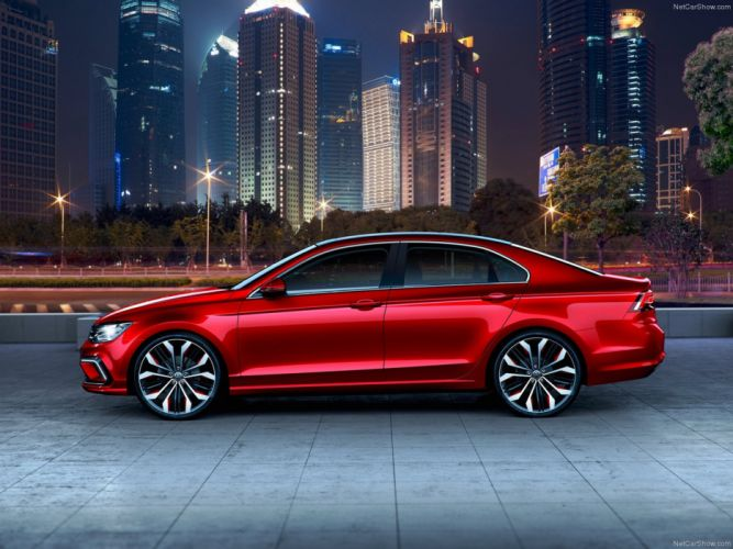 Volkswagen -New Midsize Coupe Concept 2014 wallpaper 03 4000x3000 wallpaper