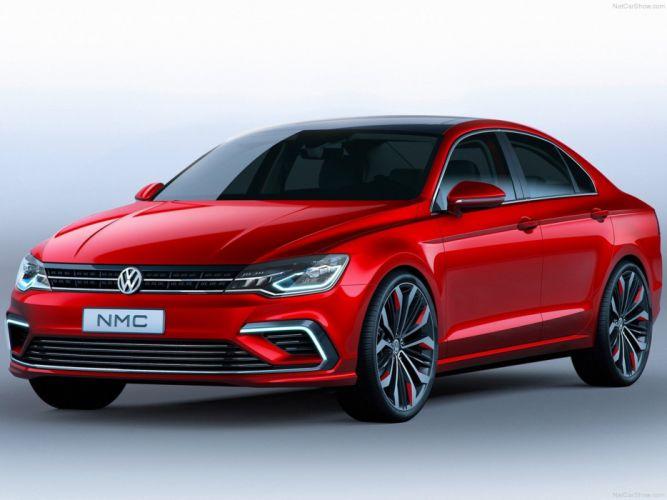 Volkswagen -New Midsize Coupe Concept 2014 red wallpaper 09 4000x3000 wallpaper