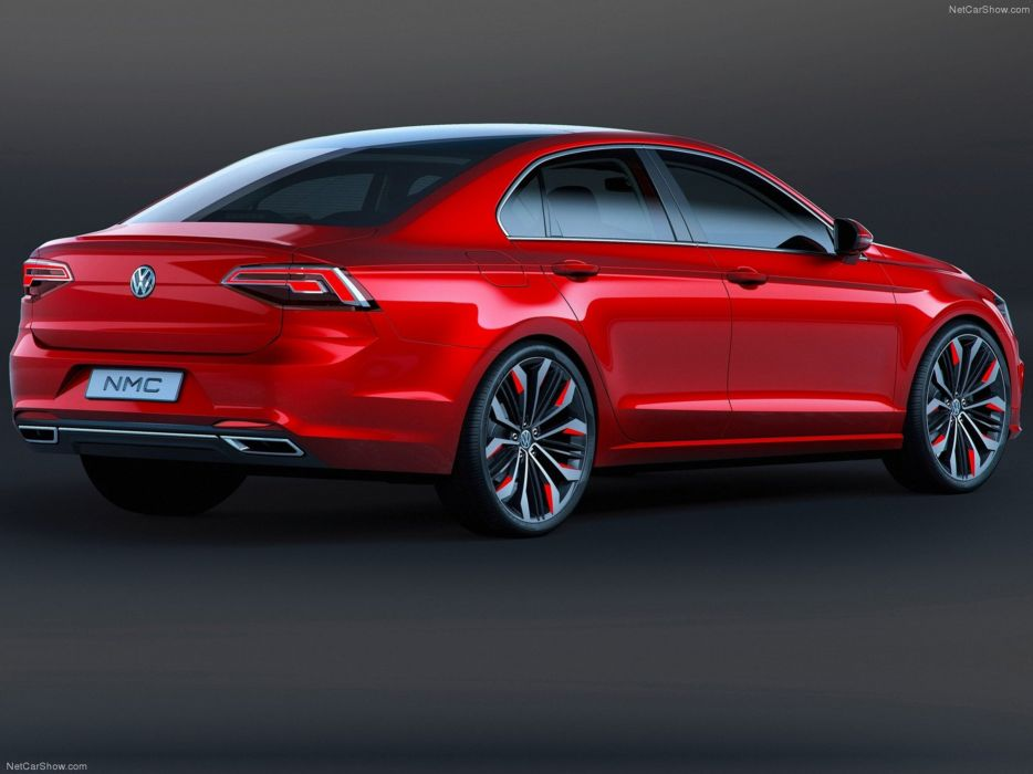 Volkswagen -New Midsize Coupe Concept 2014  wallpaper 08 4000x3000 wallpaper