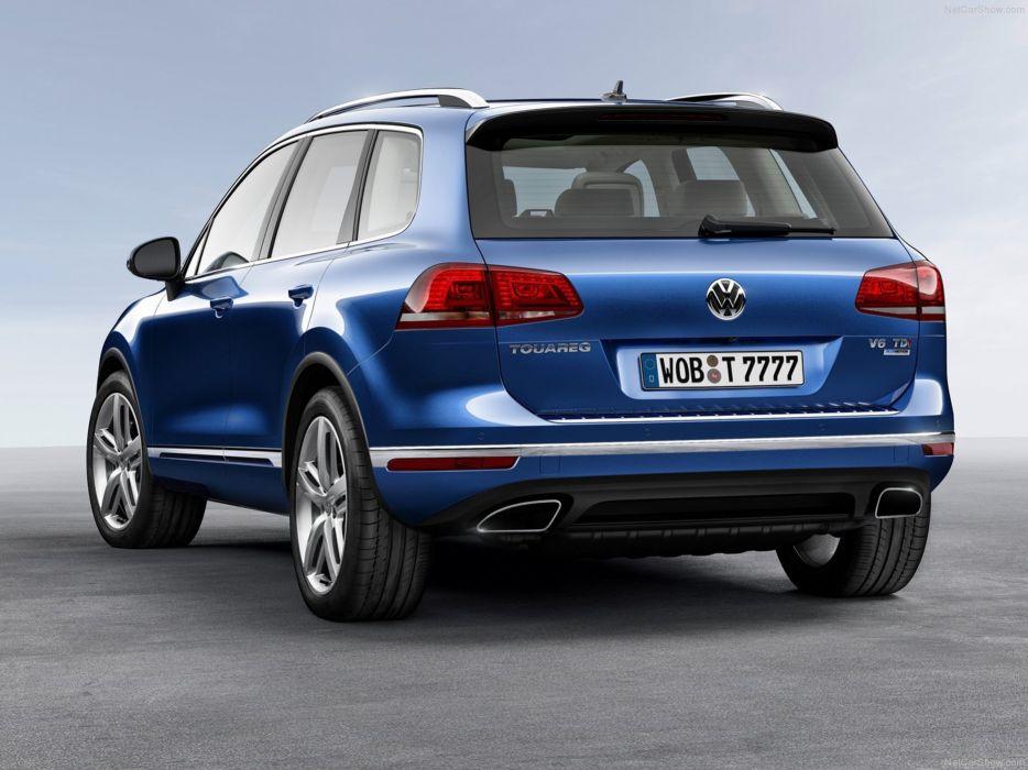 Volkswagen- Touareg 2015 rear wallpaper 04 4000x3000 wallpaper