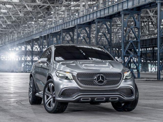 Mercedes -Benz -Coupe SUV Concept 2014 wallpaper 01 4000x3000 wallpaper