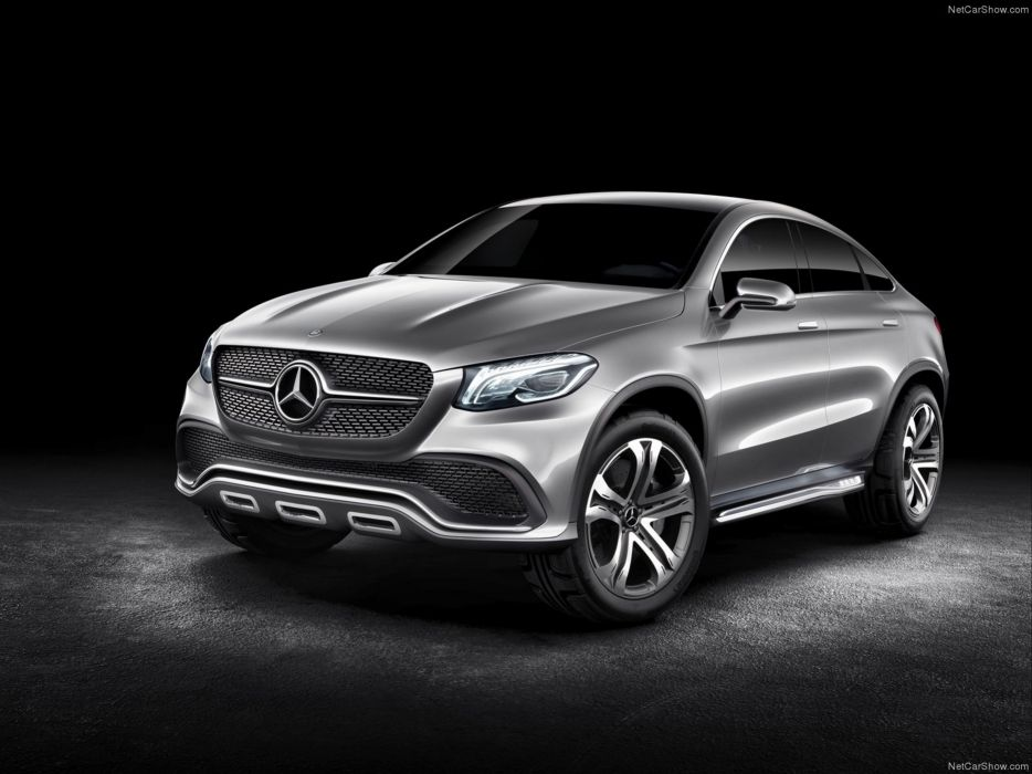 Mercedes- Benz -Coupe SUV Concept 2014  wallpaper 13 4000x3000 wallpaper