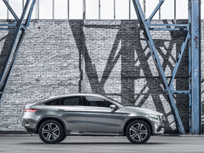 Mercedes -Benz- Coupe SUV Concept 2014 wallpaper 08 4000x3000 wallpaper