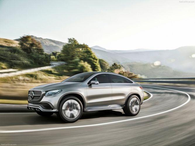 Mercedes -Benz -Coupe SUV Concept 2014 wallpaper 05 4000x3000 wallpaper