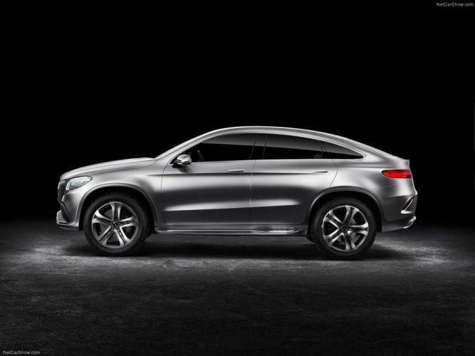 Mercedes- Benz- Coupe SUV Concept 2014 wallpaper 15 4000x3000 wallpaper