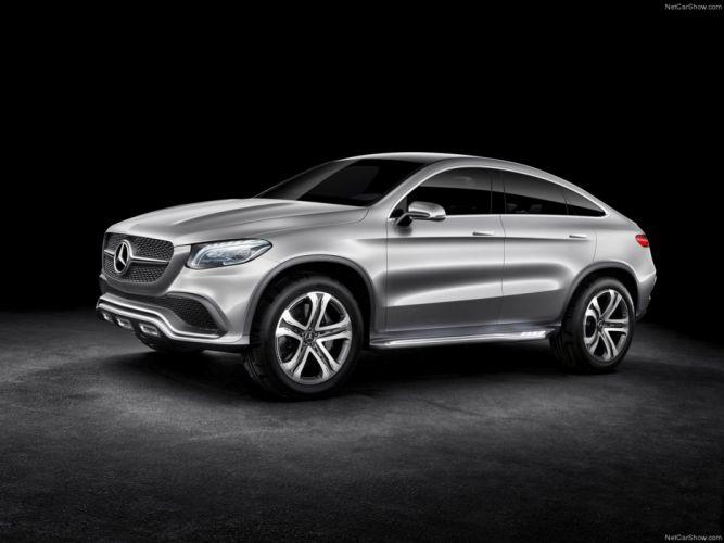 Mercedes -Benz- Coupe SUV Concept 2014 wallpaper 14 4000x3000 wallpaper