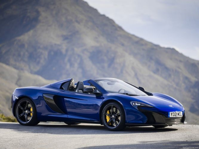 McLaren- 650S Spider 2015 sport gt supercar 4000x3000 wallpaper