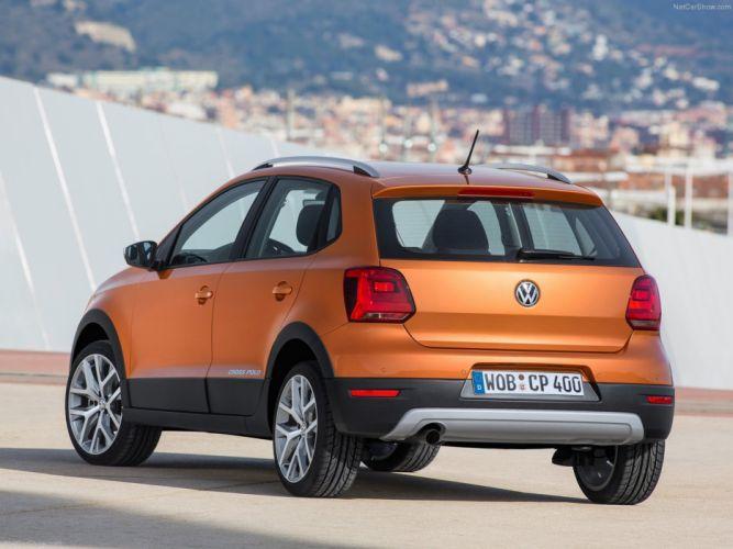Volkswagen -Cross Polo 2014 rear wallpaper 0c 4000x3000 wallpaper