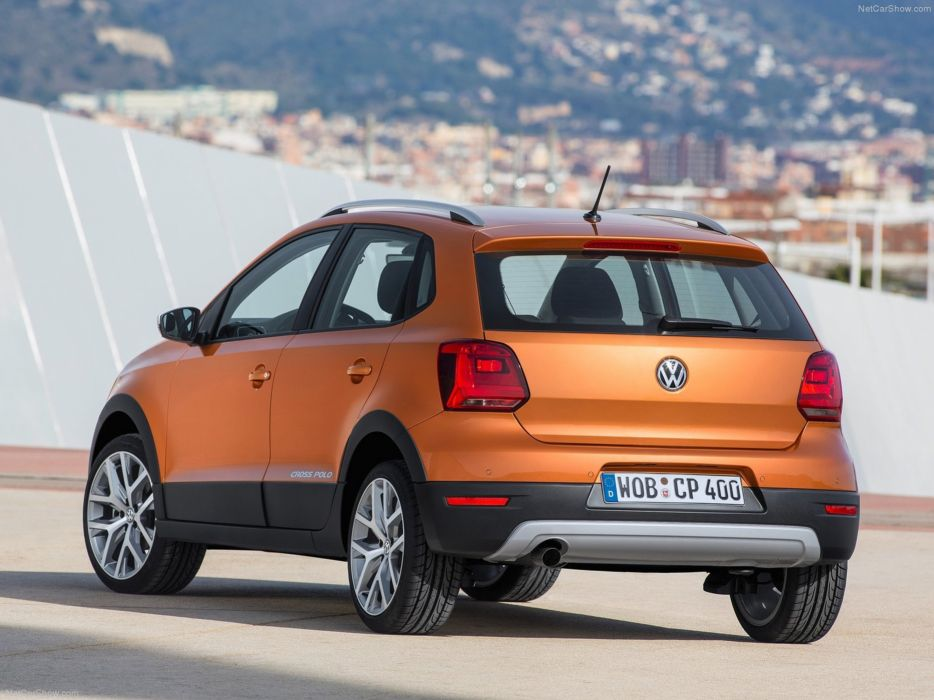 Volkswagen Cross Polo 2014 Rear Wallpaper 0c 4000x3000 Wallpaper