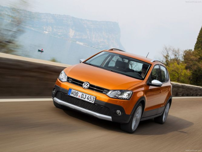 Volkswagen -Cross Polo 2014 road wallpaper 06 4000x3000 wallpaper