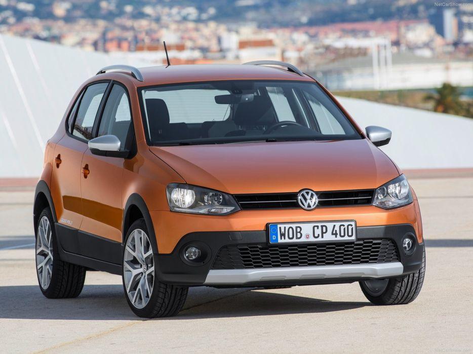 Volkswagen -Cross Polo 2014 wallpaper 03 4000x3000 wallpaper