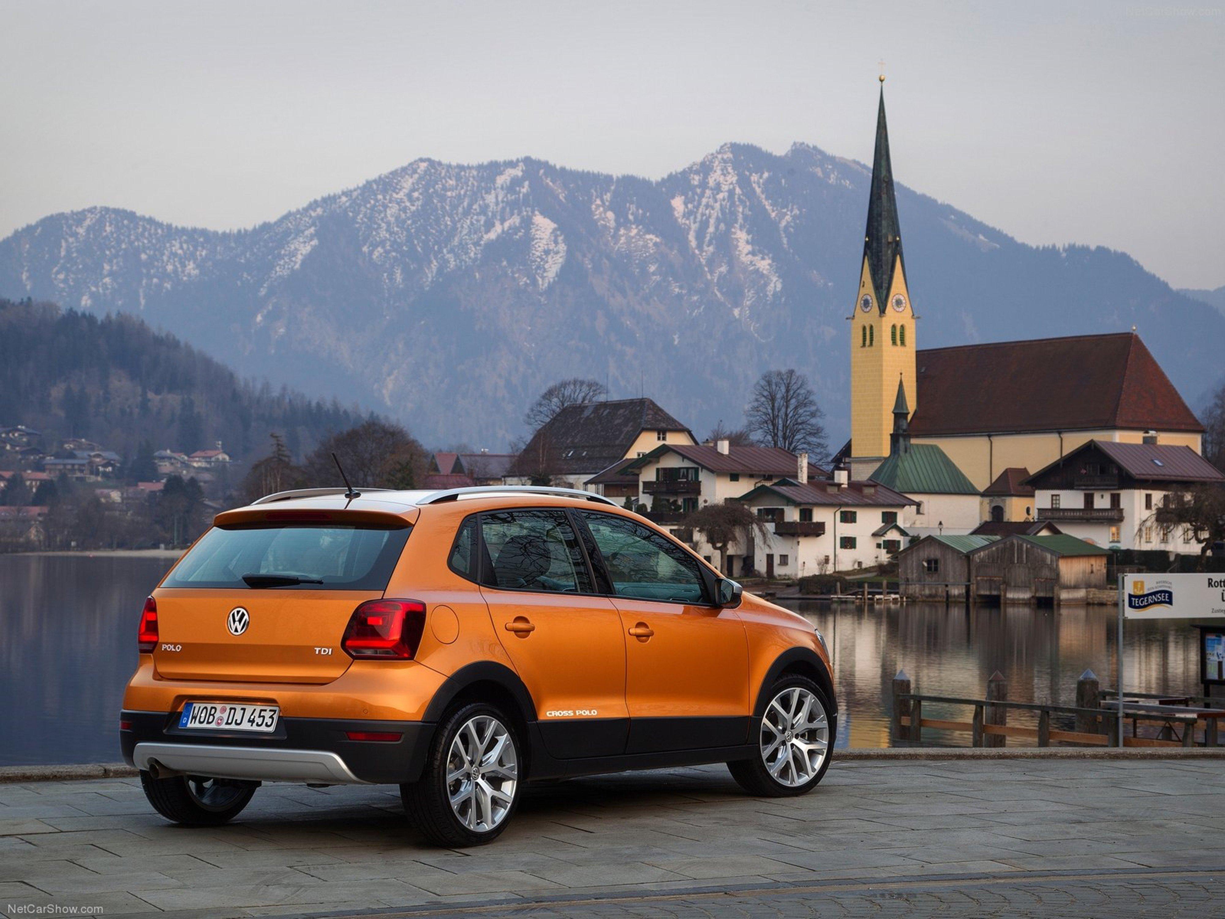 Volkswagen Cross Polo 2014 wallpaper 0d 4000x3000 wallpaper 4000x3000