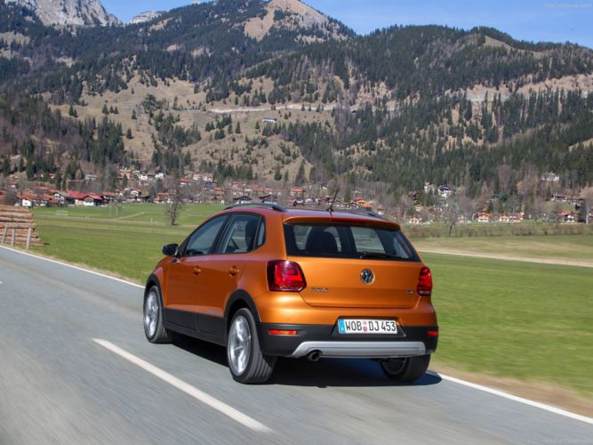 Volkswagen -Cross Polo 2014 wallpaper 0f 4000x3000 wallpaper