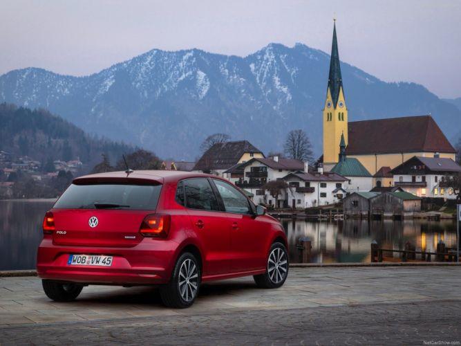 Volkswagen Polo 2014 wallpaper rear 4000x3000 wallpaper