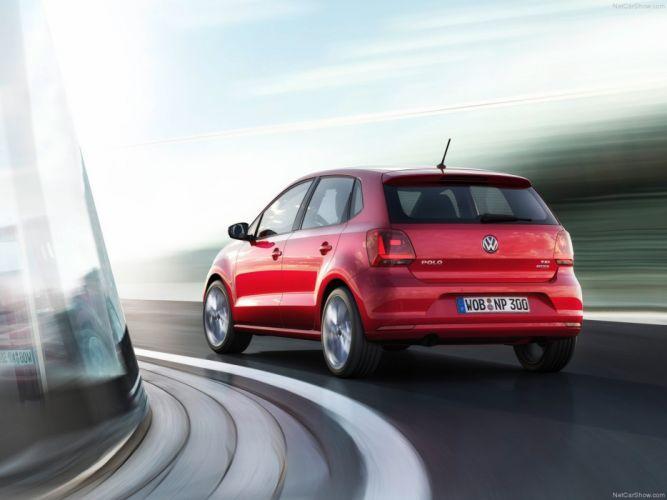 Volkswagen Polo 2014 wallpaper red movie glass 4000x3000 wallpaper