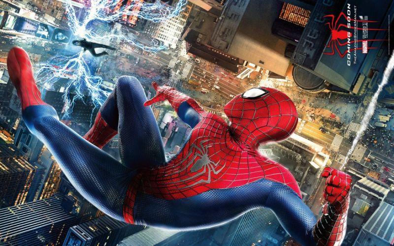 AMAZING SPIDER-MAN 2 action adventure fantasy comics movie spider spiderman marvel superhero (8) wallpaper
