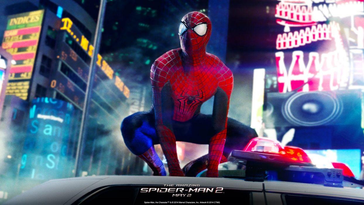 AMAZING SPIDER-MAN 2 action adventure fantasy comics movie spider spiderman marvel superhero (12) wallpaper
