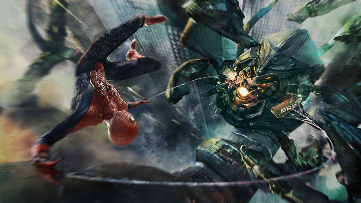 AMAZING SPIDER-MAN 2 action adventure fantasy comics movie spider spiderman marvel superhero (24) wallpaper
