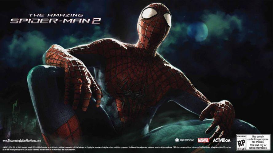 AMAZING SPIDER-MAN 2 action adventure fantasy comics movie spider spiderman marvel superhero (47) wallpaper