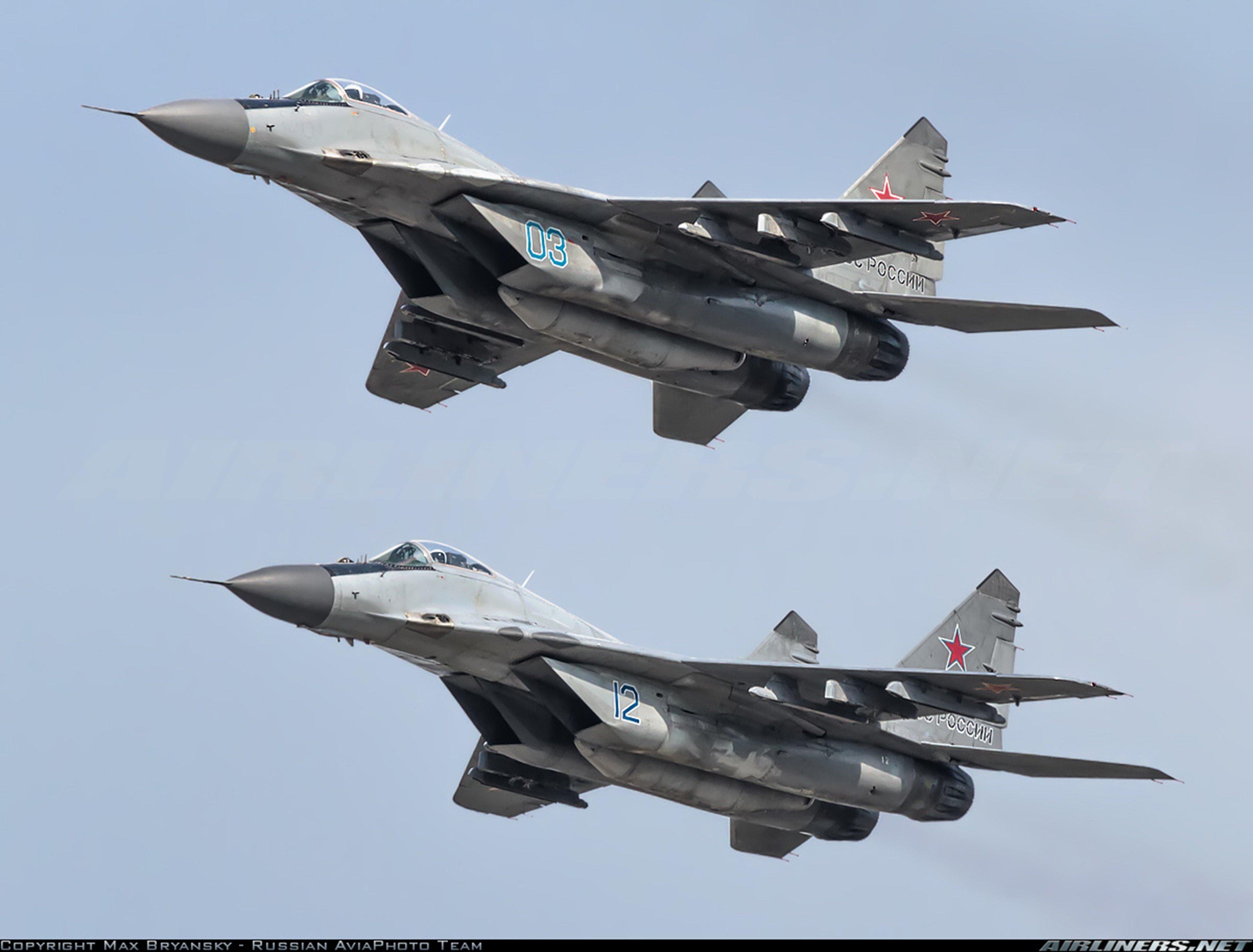 Mikoyan Gurevich MiG Russia Jet Fighter Russian Air Force Aircraft War Sky Red Star 29 Wallpaper