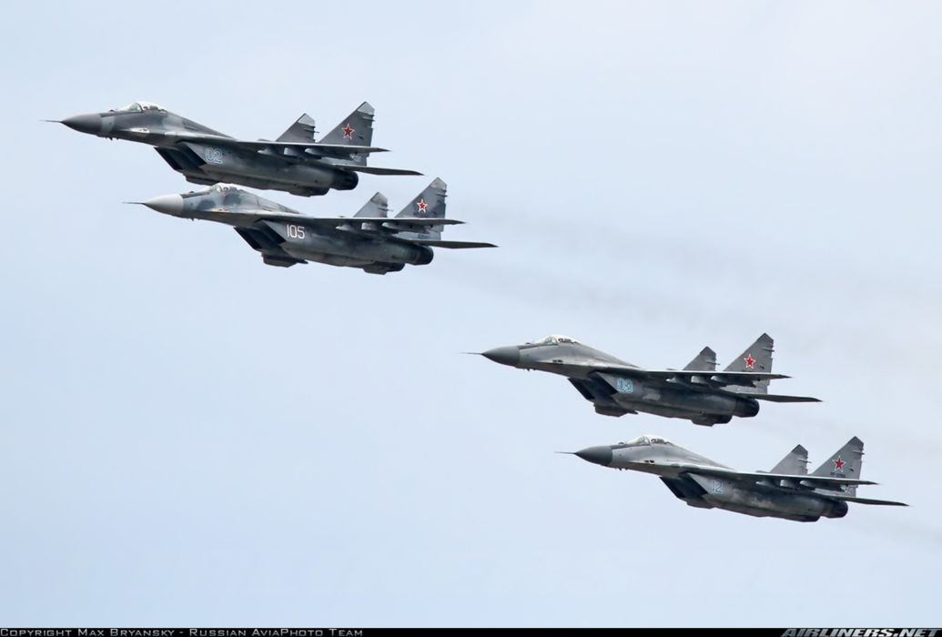 Mikoyan Gurevich MiG Russia jet fighter russian air force aircraft war sky red star wallpaper
