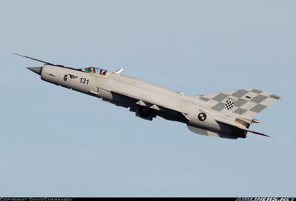 Mikoyan Gurevich MiG jet fighter air force aircraft war sky Croatia wallpaper