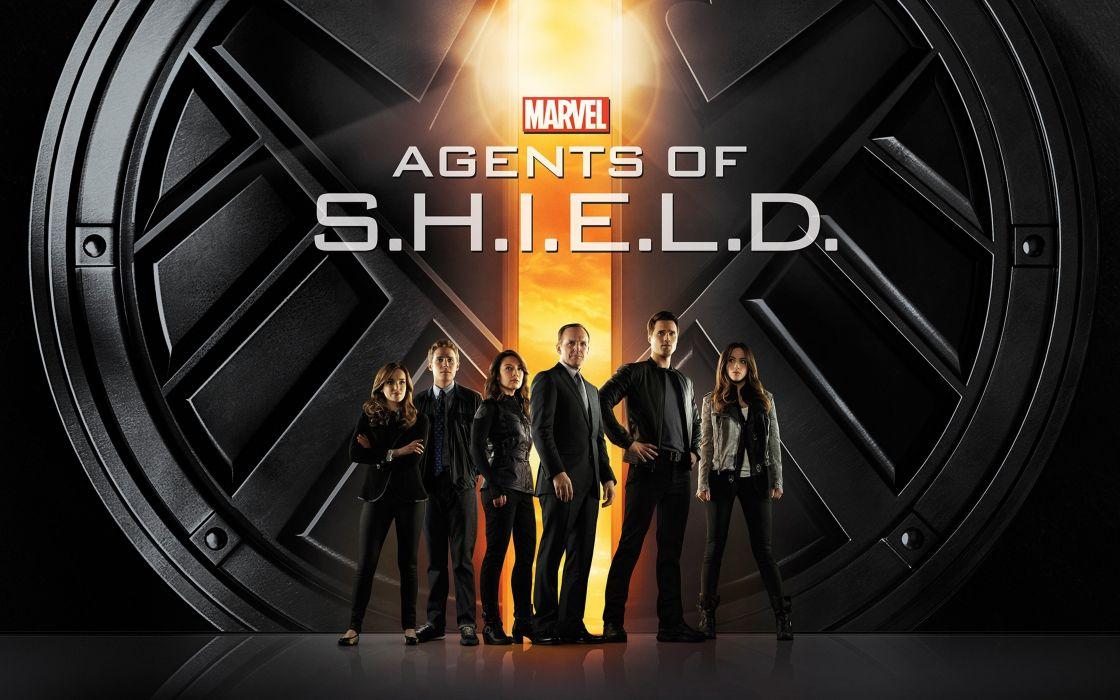 agents of shield marvel tv serie wallpaper