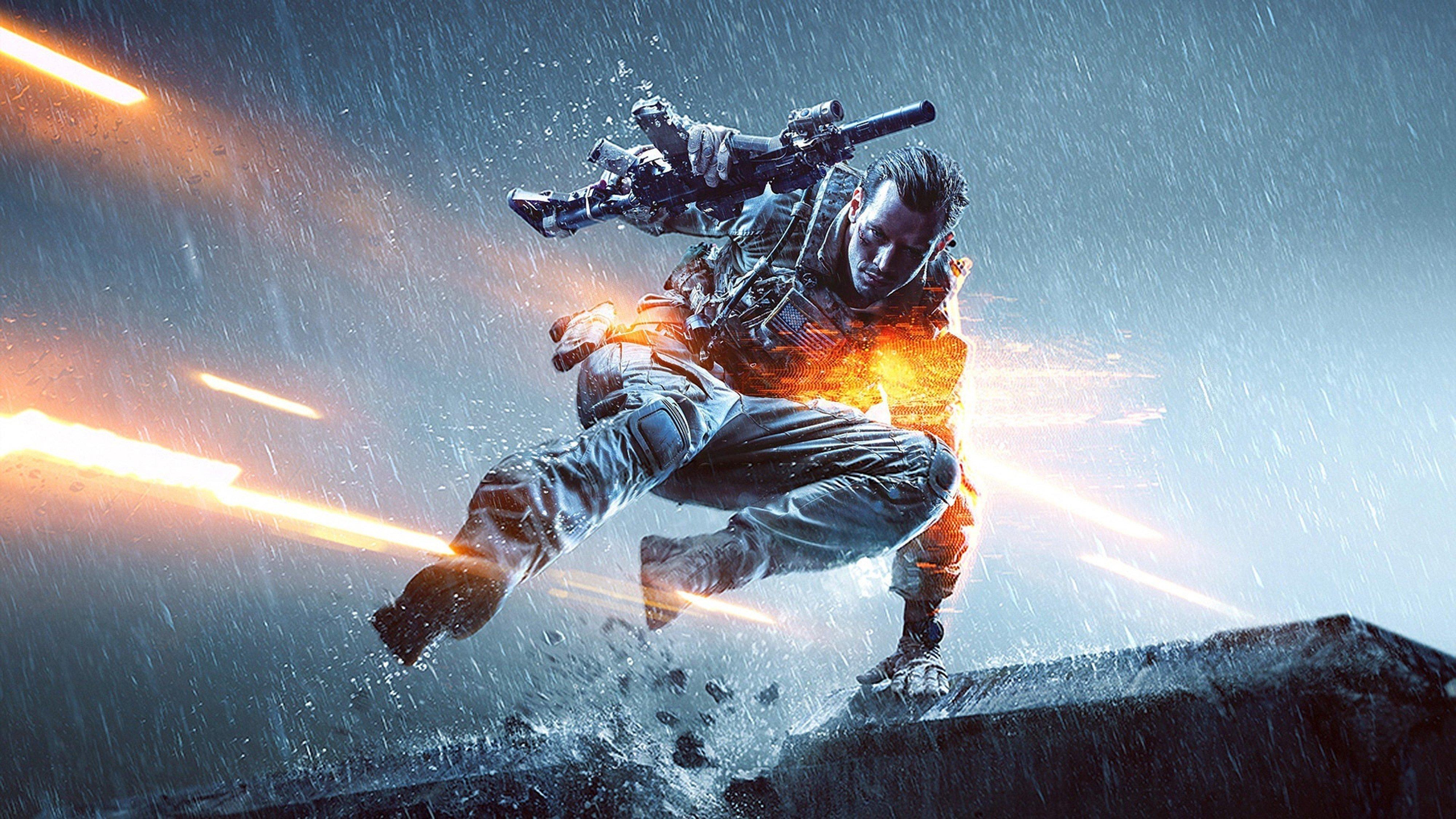 Battlefield 4 Game Soldier Army Wallpaper  4000x2250