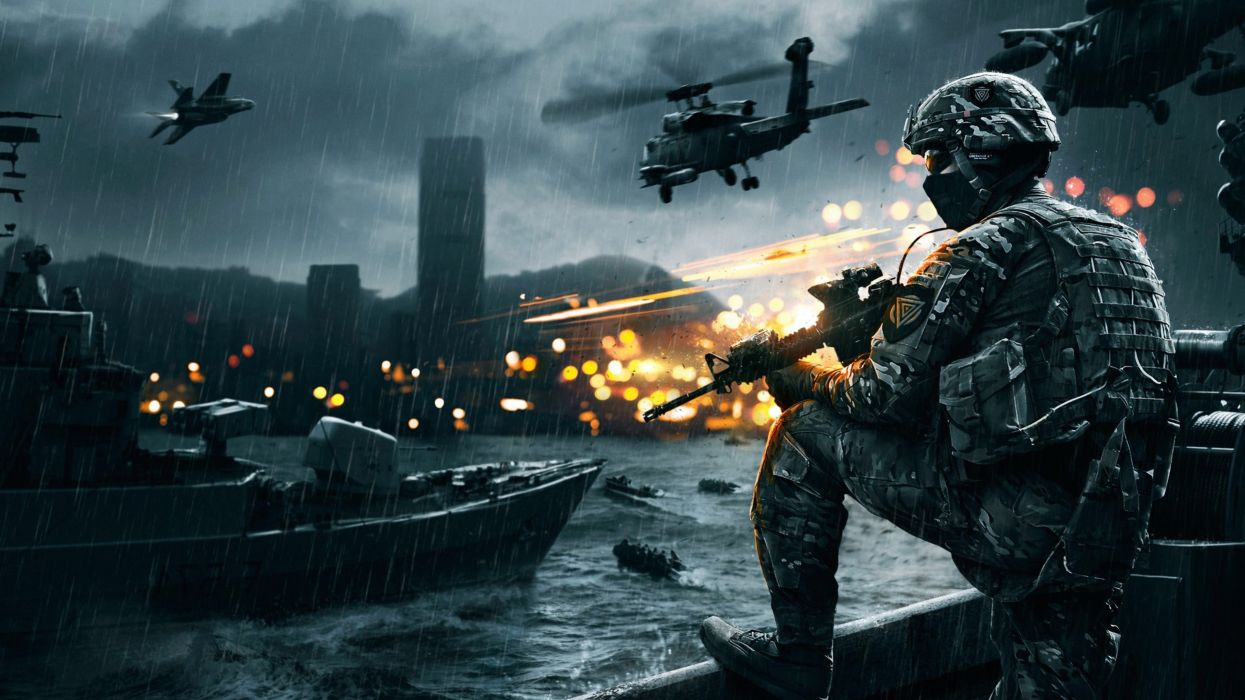 battlefield 4 siege of shanghai game soldier army wallpaper