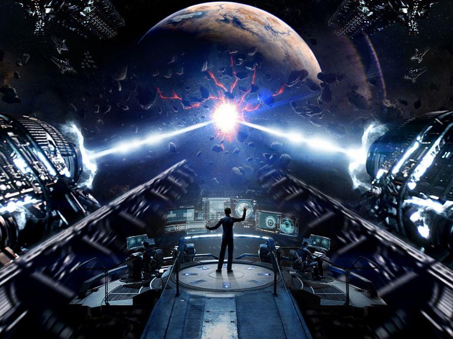 Enders Game War Sci-fi Movie Alien Fiction Future