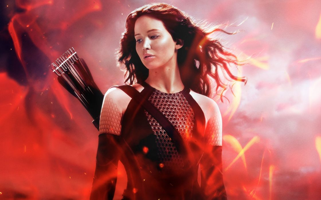 katniss in the hunger games catching fire 4000x2500 jennifer lawrence wallpaper