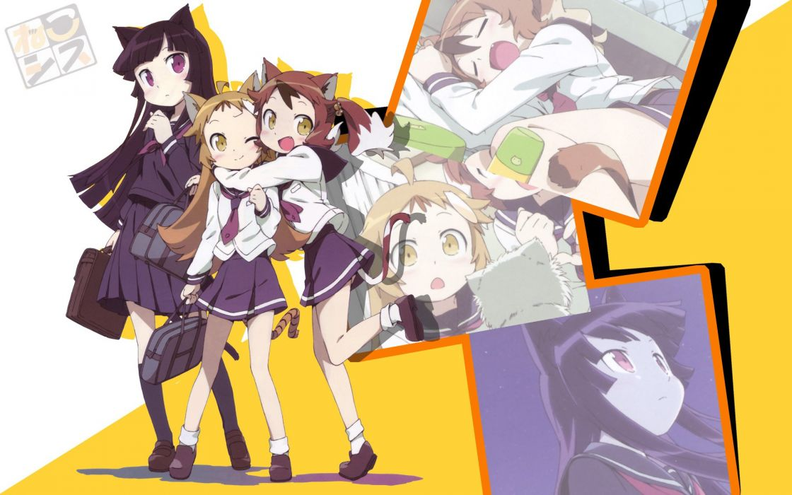 school uniforms nekomimi anime Gokou Ruri Ore No Imouto Ga Konna Ni Kawaii Wake Ga Nai wallpaper