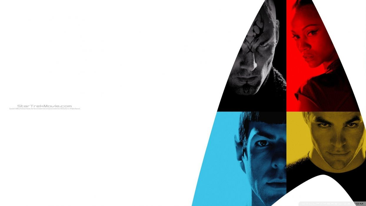 Star Trek Spock Nero movie posters wallpaper