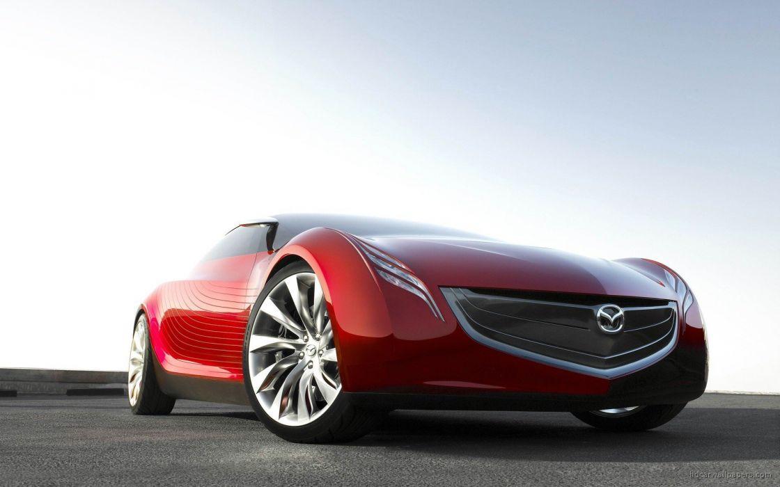 cars Mazda concept art vehicles red cars Mazda Ryuga wallpaper