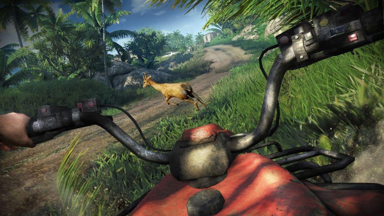 video games deer fps quad bikes Far Cry 3 wallpaper