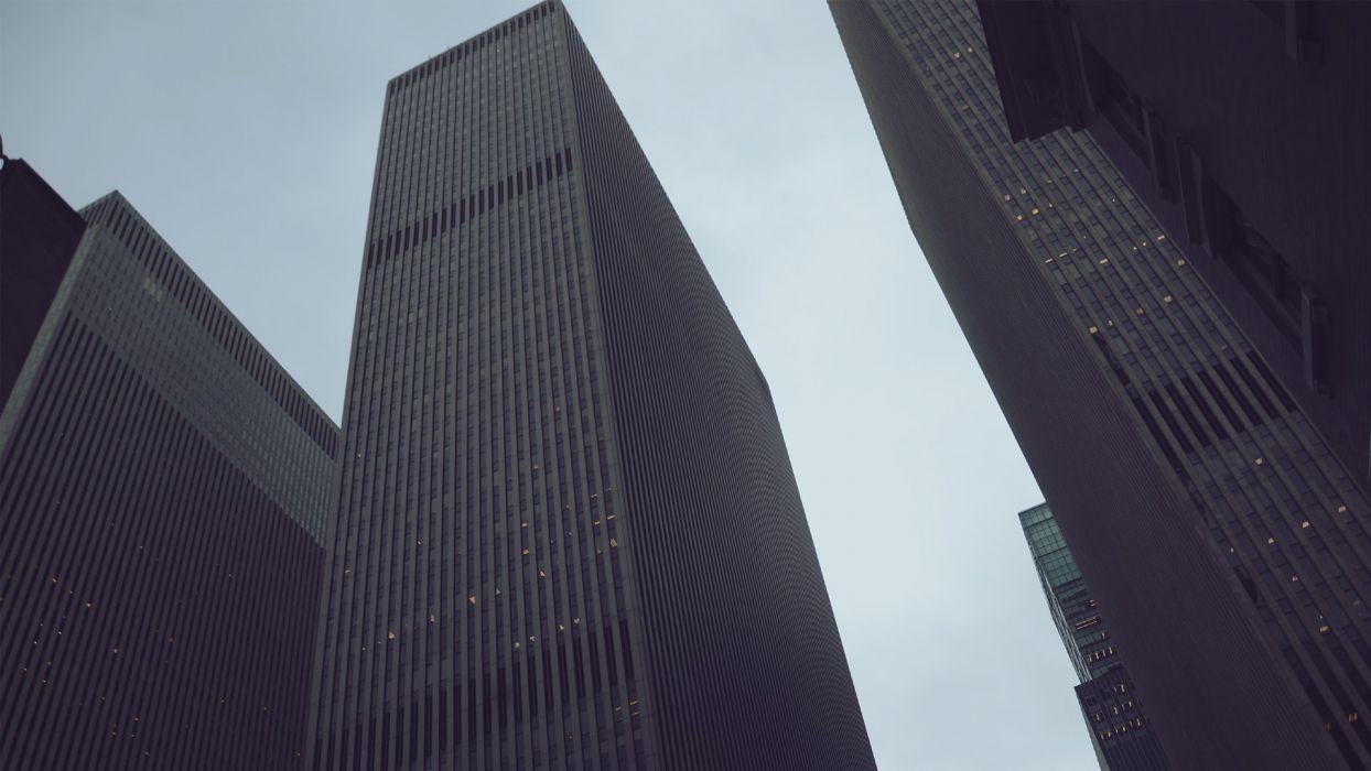cityscapes architecture urban buildings skyscrapers modern wallpaper