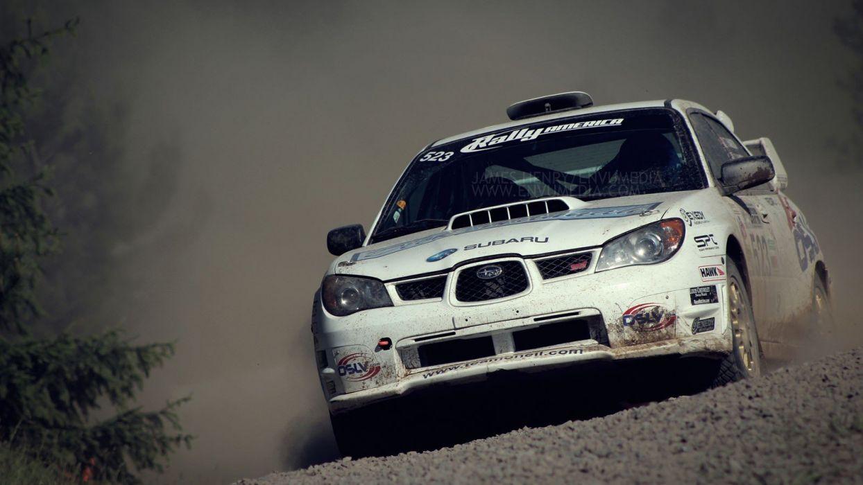 cars Subaru WRX STI rally cars wallpaper
