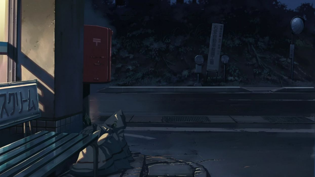 Makoto Shinkai 5 Centimeters Per Second wallpaper