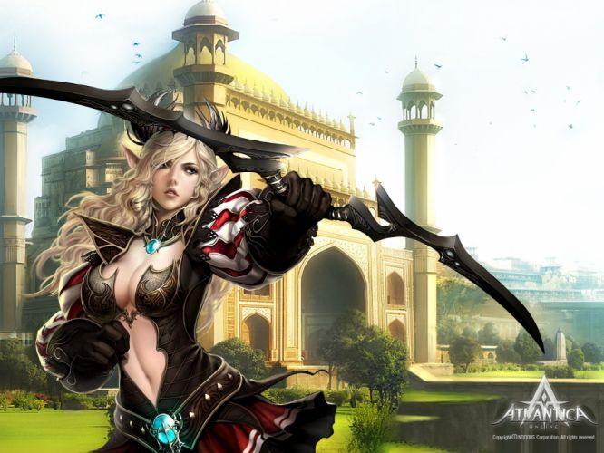 fantasy video games artwork MMORPG Atlantica Online wallpaper