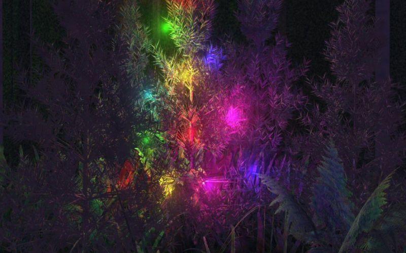 abstract neon art wallpaper